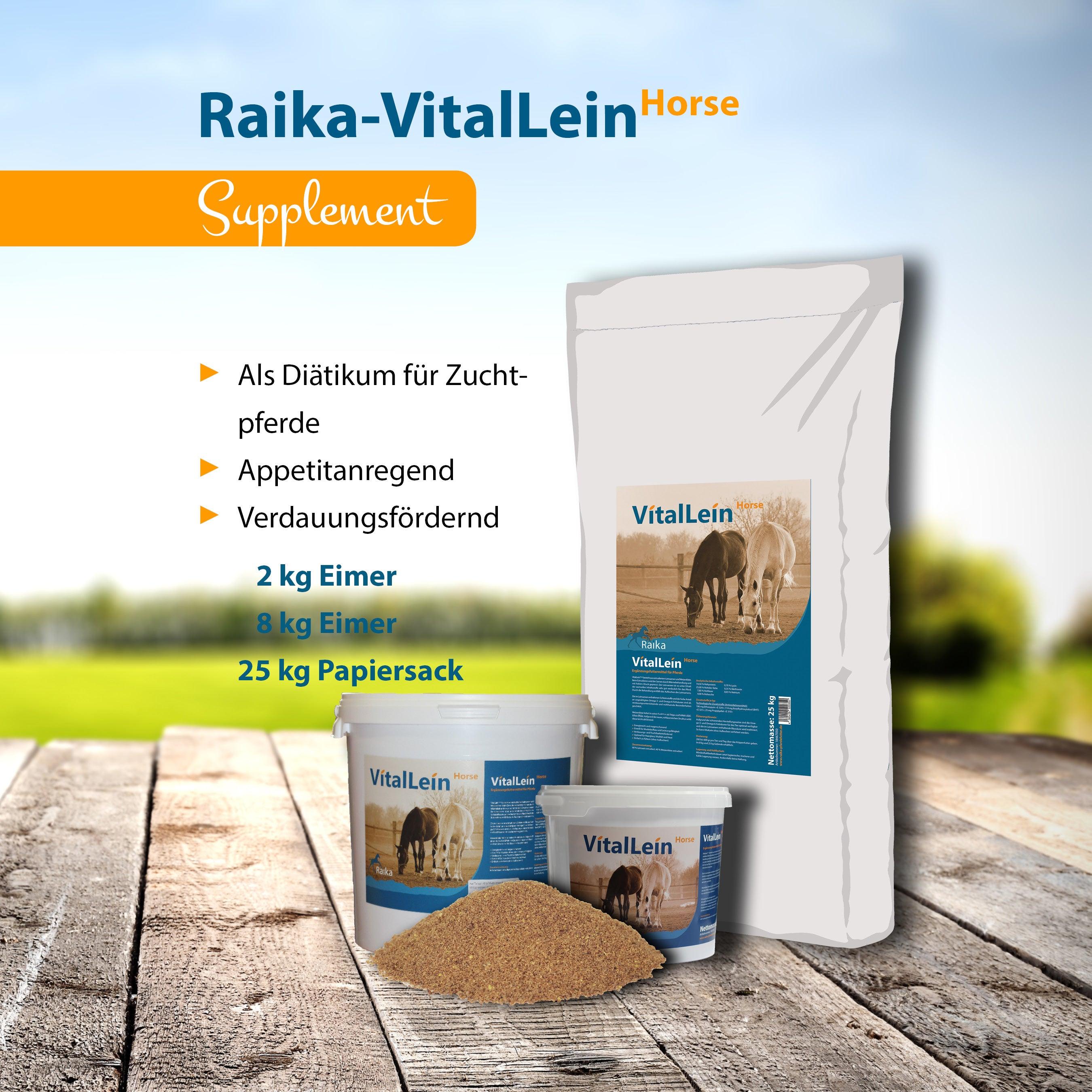 Raika-VitalLein Horse Pferdefutter
