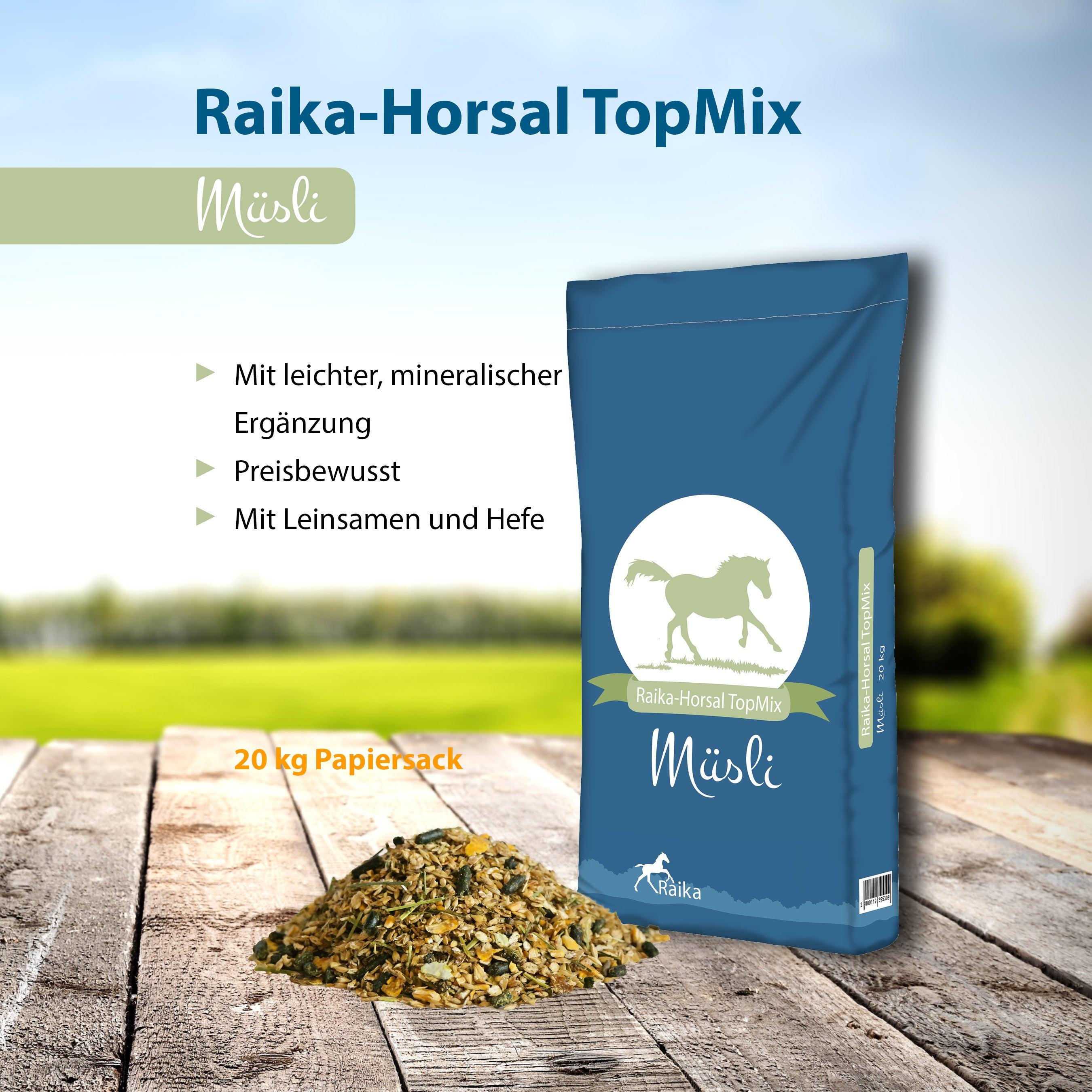 Raika-Horsal TopMix Müsli Pferdefutter