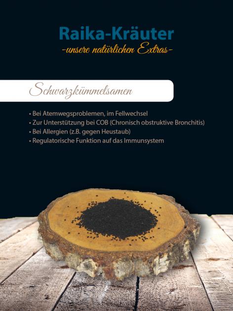 Raika Schwarzkümmel-Samen