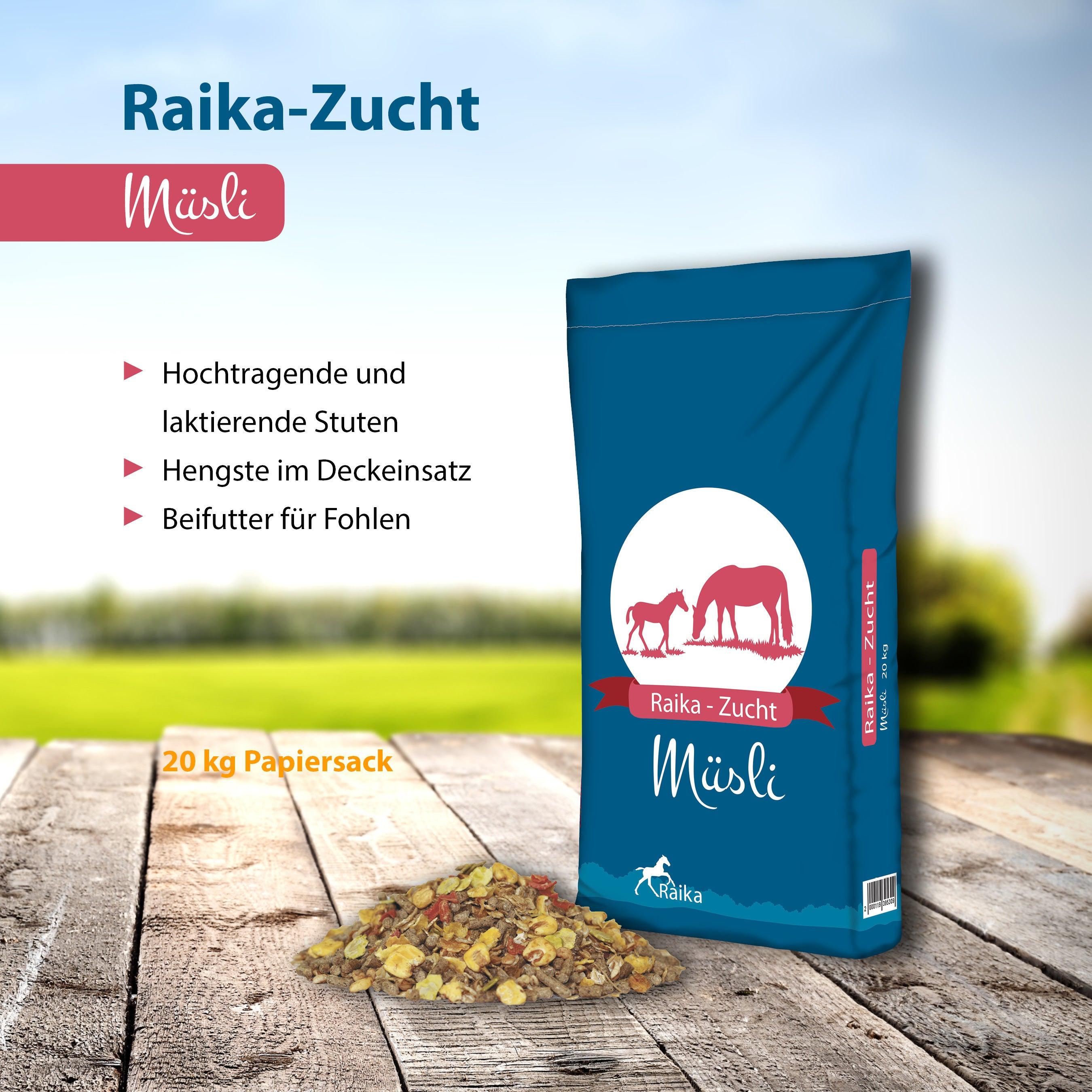 Raika-Zucht Müsli Pferdefutter