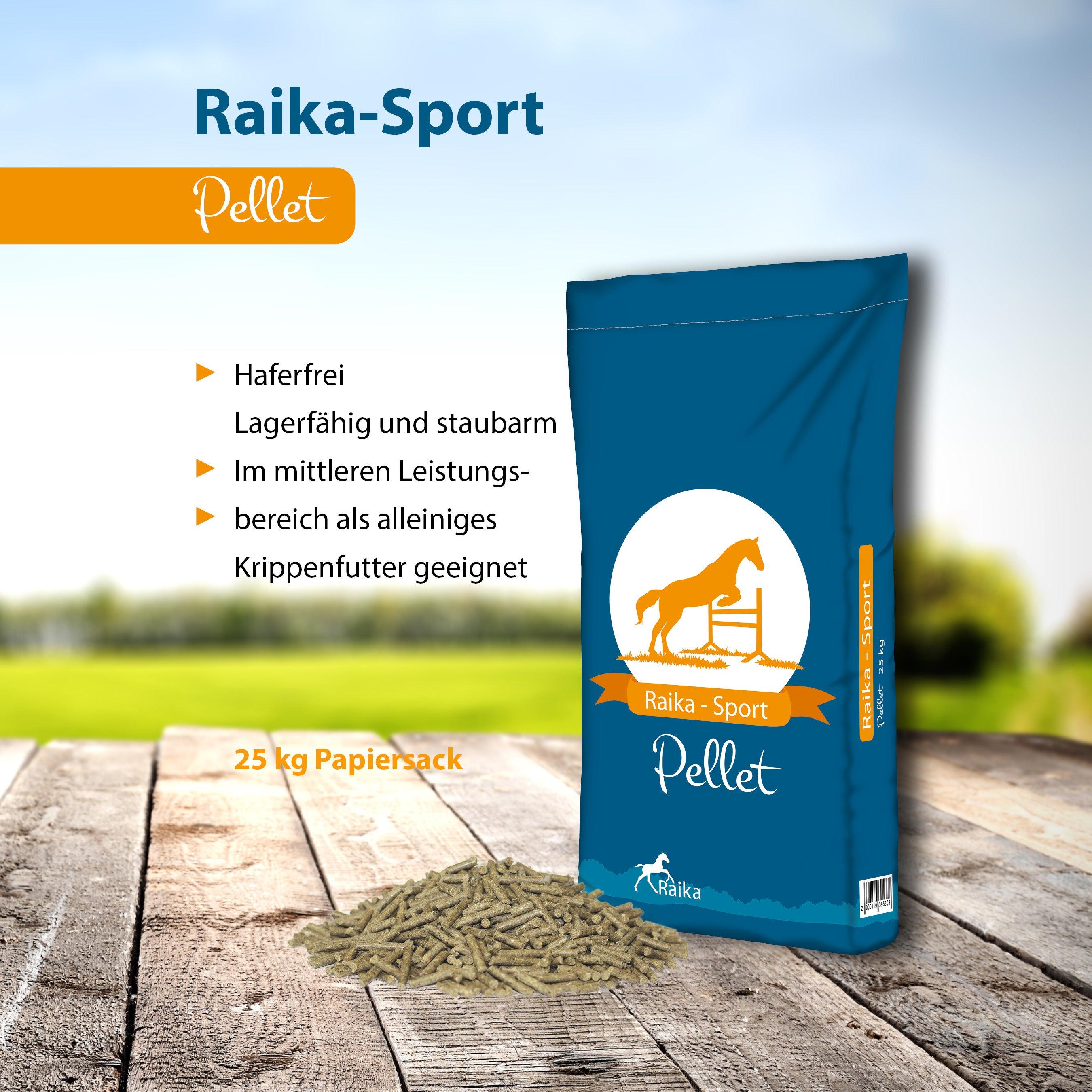 Raika-Sport Pellet Pferdefutter