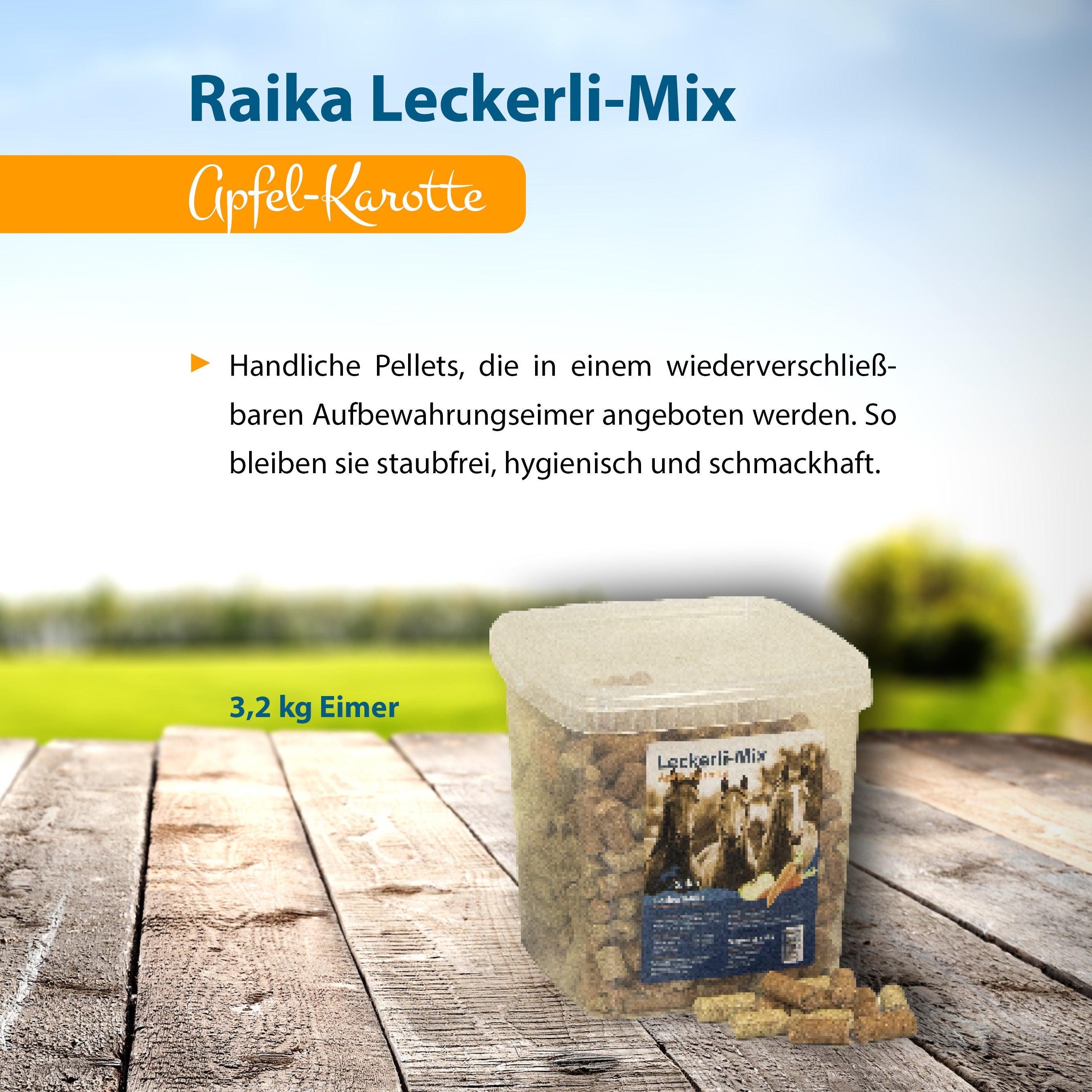Raika Leckerli-Mix Apfel-Karotte Pferdefutter