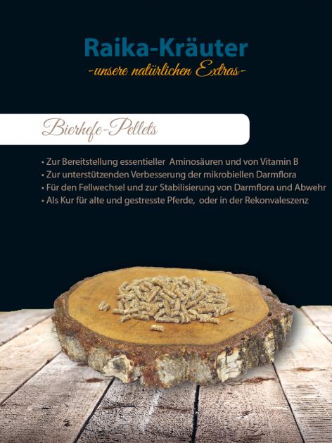 Raika Bierhefe-Pellets