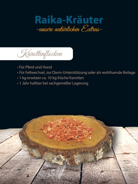 Raika Karottenflocken