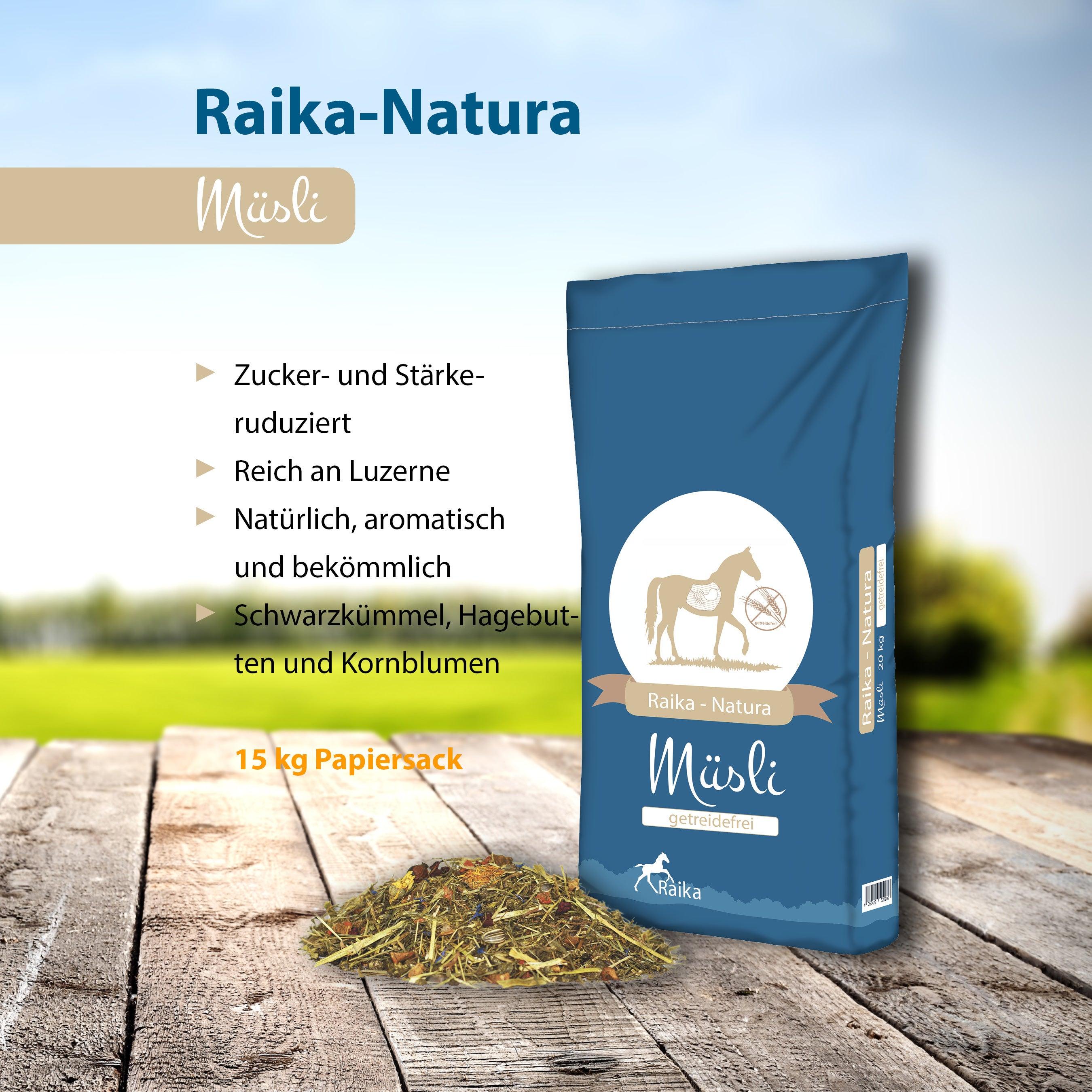 Raika-Natura Müsli Pferdefutter