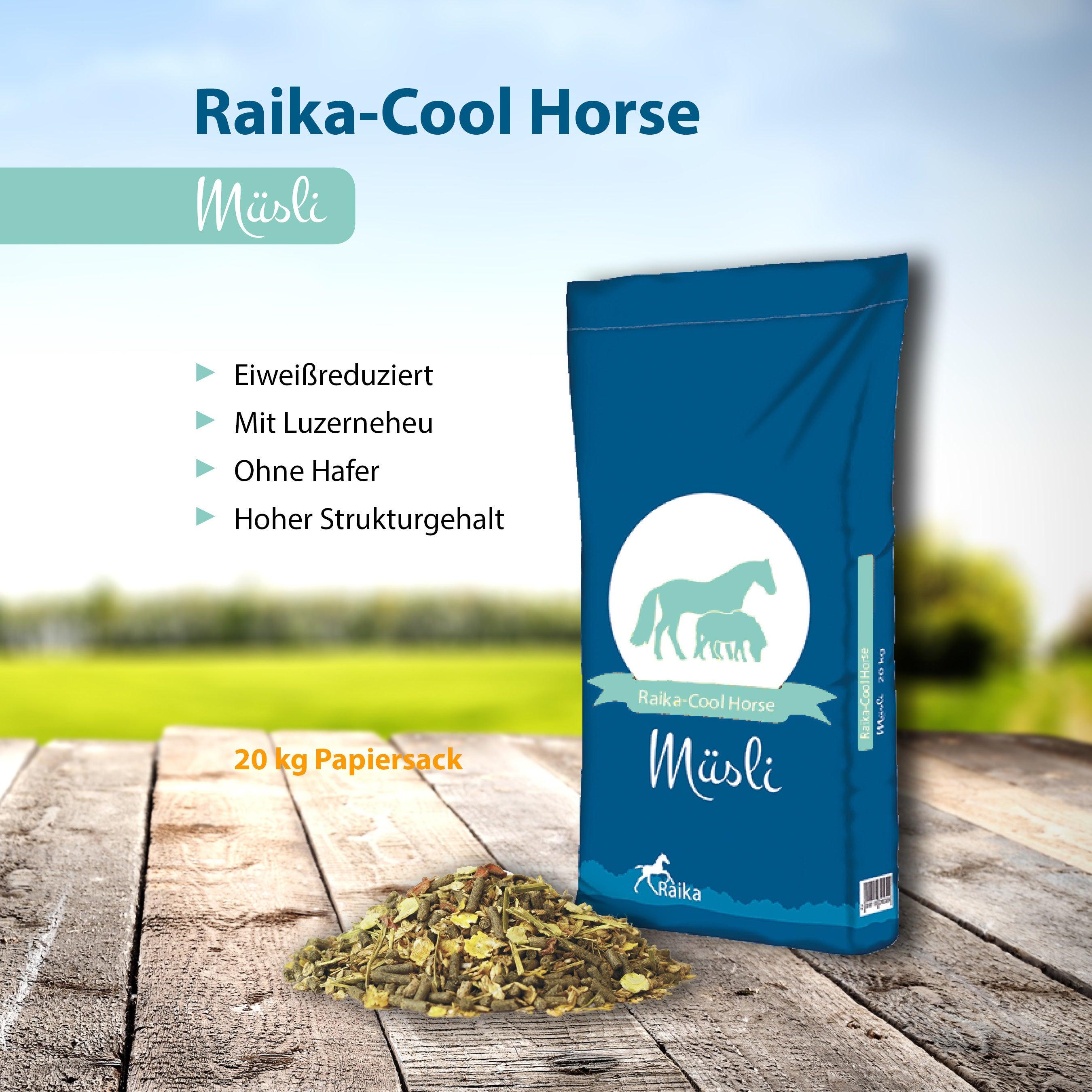 Raika-Cool Horse Müsli Pferdefutter