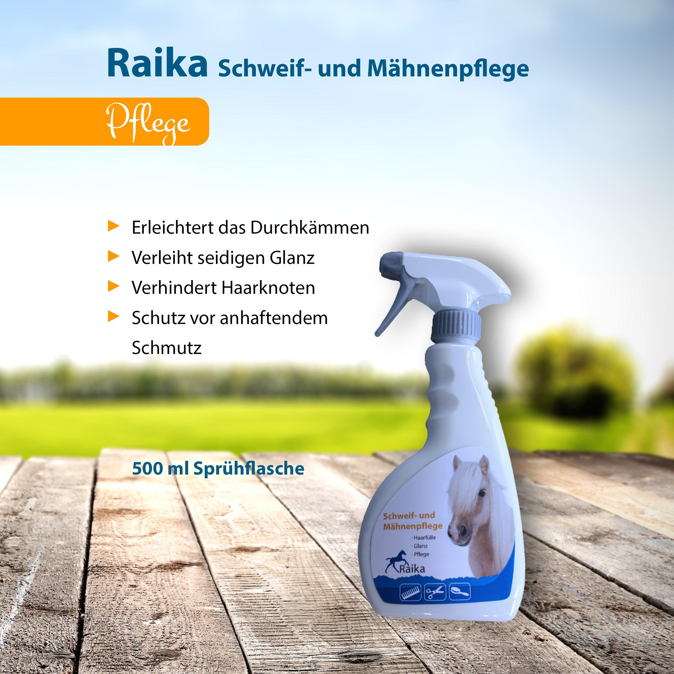 Raika Schweif- und Mähnenpflege Pferdepflege