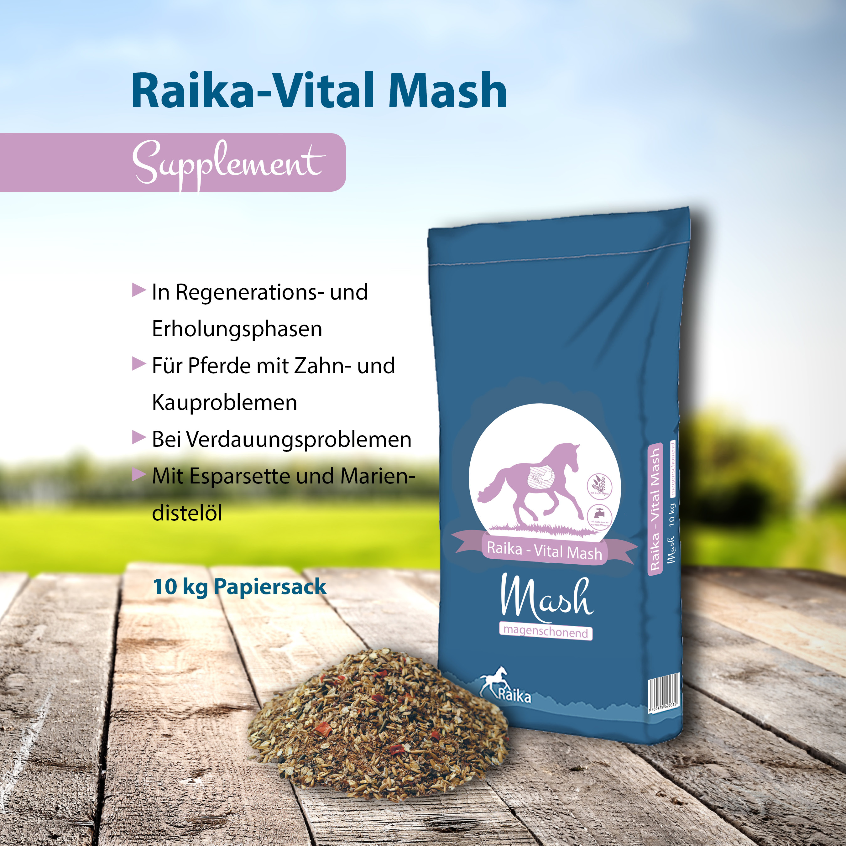 Raika-Vital Mash Pferdefutter