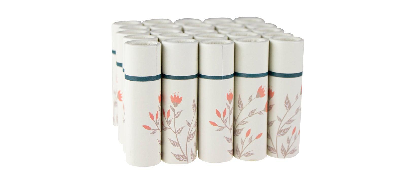 Papptiegel mit Geschenkverpackung | Lippenstift 10 g | 25 Stück