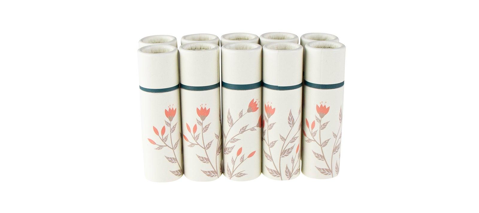 Papptiegel mit Geschenkverpackung | Lippenstift 10 g | 10 Stück
