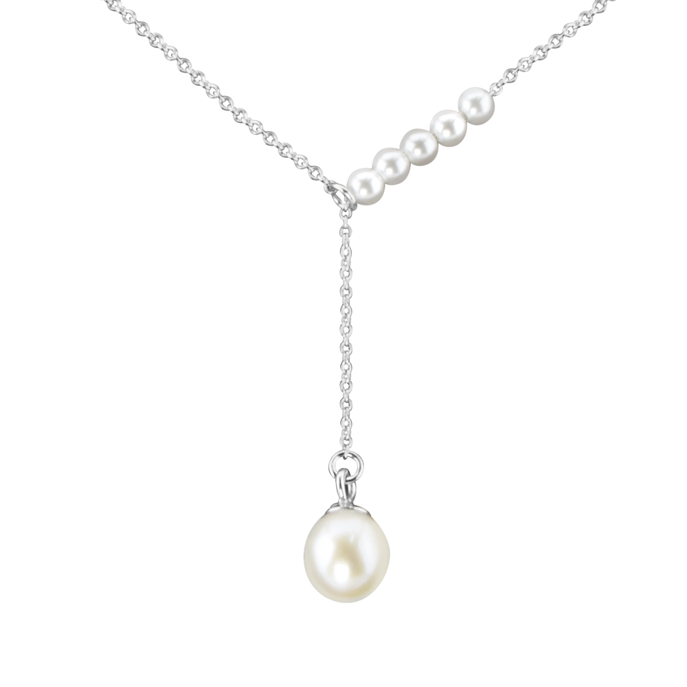 Pearl Asymetric Kette