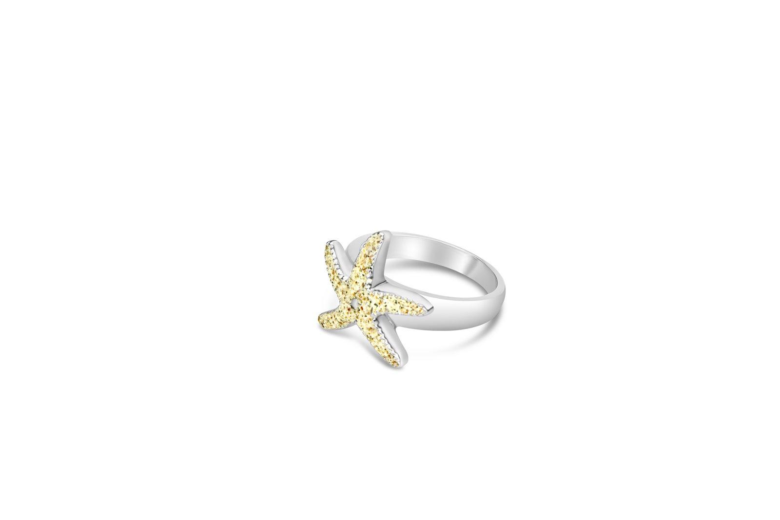 Ring Seestern - Größe 52