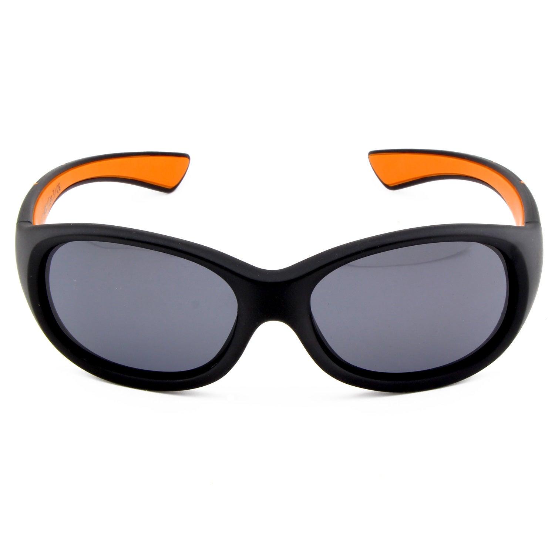 Kids @school   Kinder Sport-Sonnenbrille   Black-orange