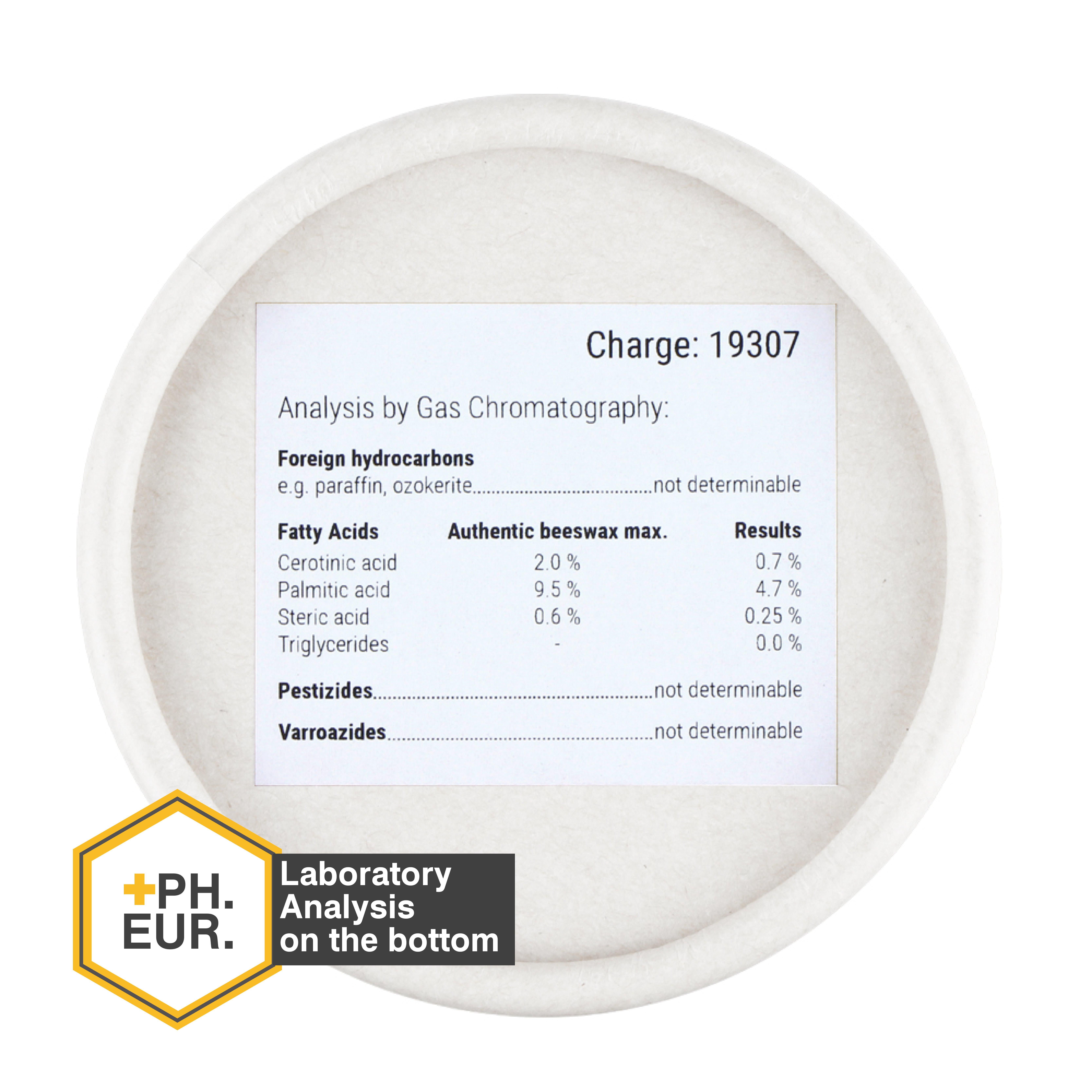 Bienenwachs Pellets | Europharm Norm (Ph. Eur.) | 500g Pellets