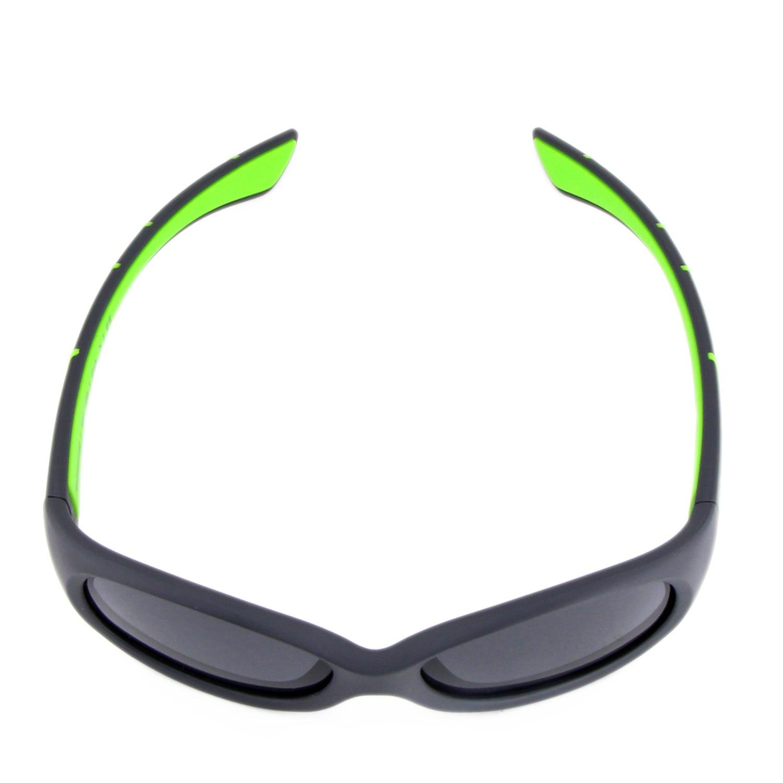 Kids @school   Kinder Sport-Sonnenbrille   Anthracite-green