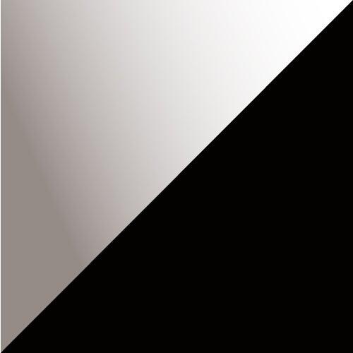 Schwarz-silber