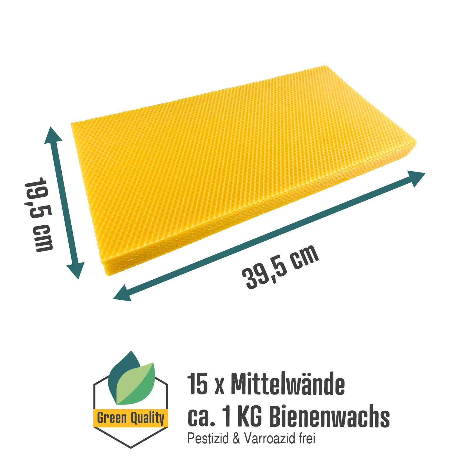 Mittelwände - Zander - 395 X 195 mm