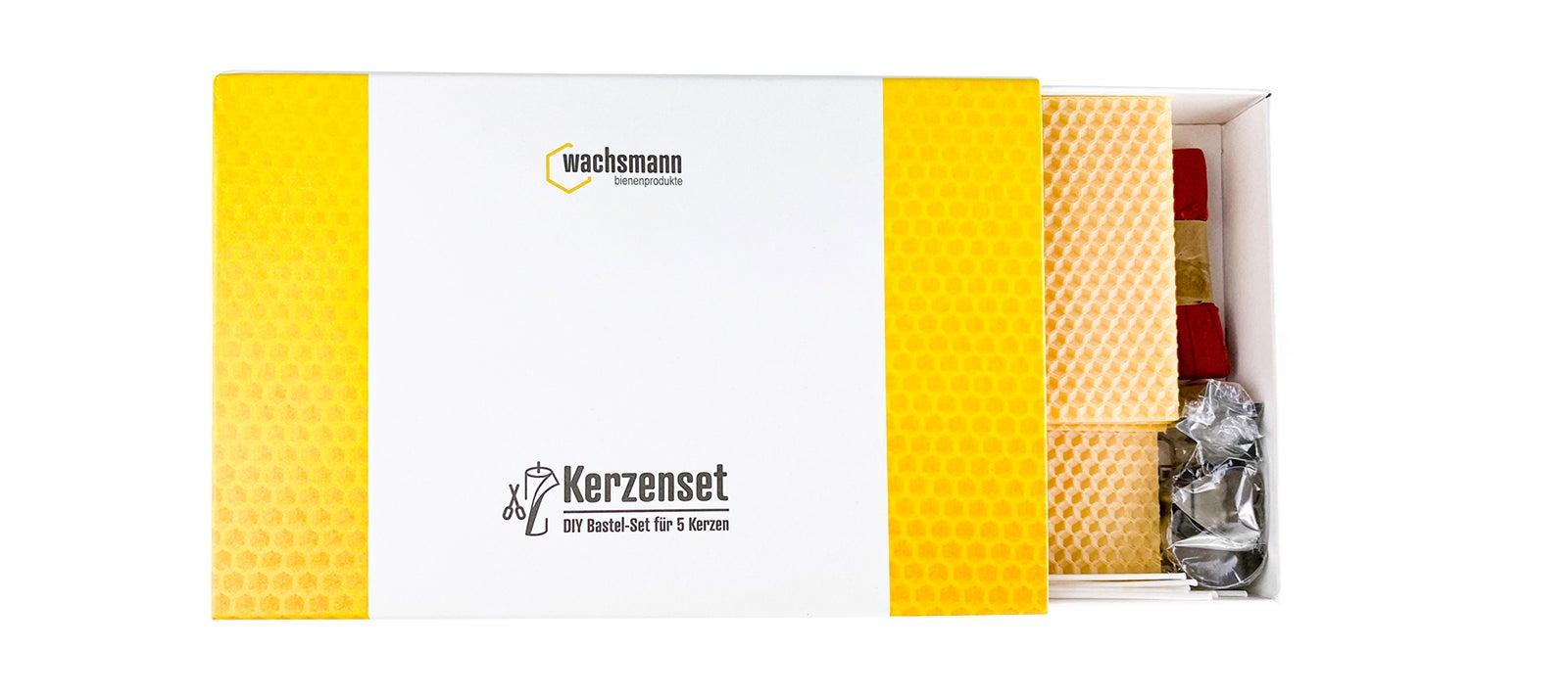 Kerzenset | DIY Bastel-Set | Gelb