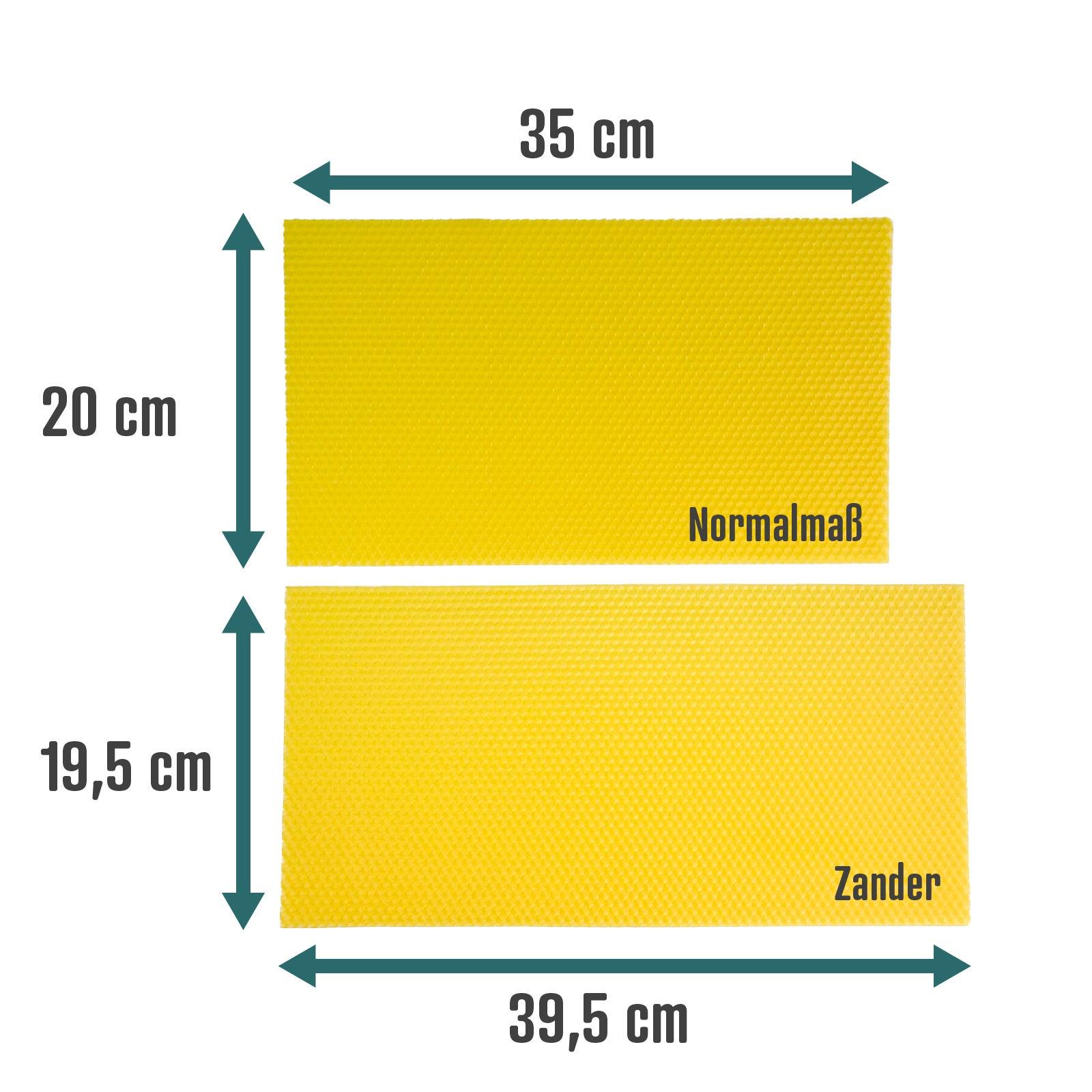Mittelwände - Normalmaß - 350 X 200 mm