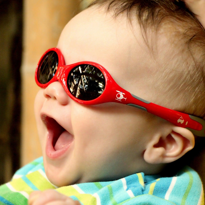 Baby Sonnenbrille | Mädchen & Jungen | Größe S | Chopper