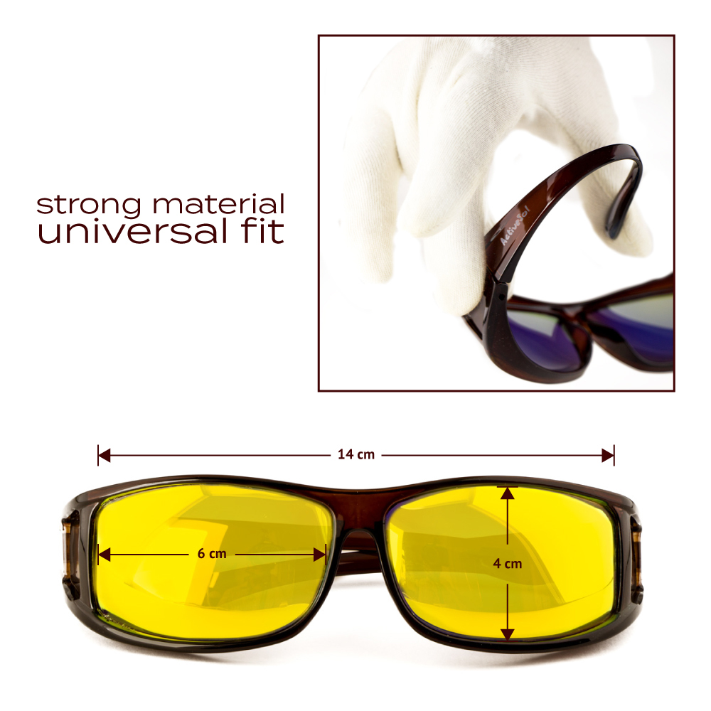 Classic   Brown - brown lenses with yellow coating