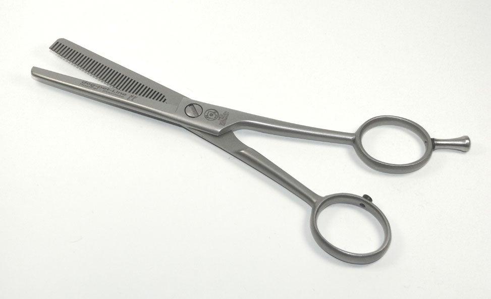 NTS dog pet thinning scissors / grooming scissors, 40 teeth one-sided