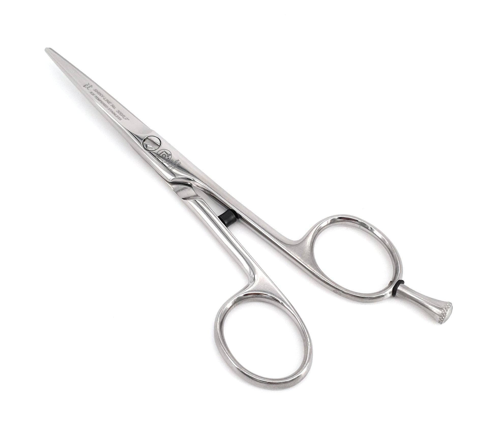 NTS Haarschere Friseurschere Chiro Form Shiny Line poliert 300-5,0 Groesse - 5,0 Zoll - 12,7 cm