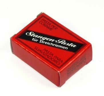 Doppel-Stangenpasta Stangenpaste schwarz/rot für Streichriemen