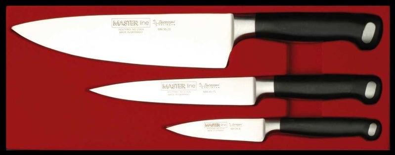 Burgvogel cook´s knife set master line - 3 pieces