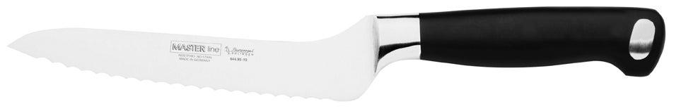 Burgvogel Brotmesser Wellenschliff, Klinge 15 cm Griff Master Line