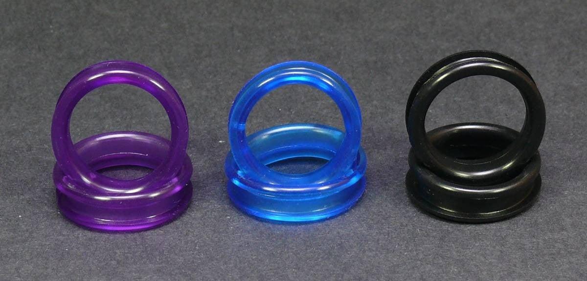 22 mm Fingerring Einsatz für Scherengriff Fingerringe Einsätze Augen