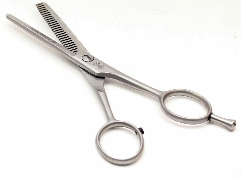 NTS dog pet thinning scissors / grooming scissors, 28 teeth one-sided