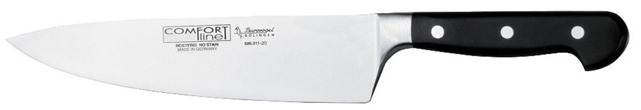 Burgvogel Kochmesser, Klinge 20 cm, Griff Comfort Line
