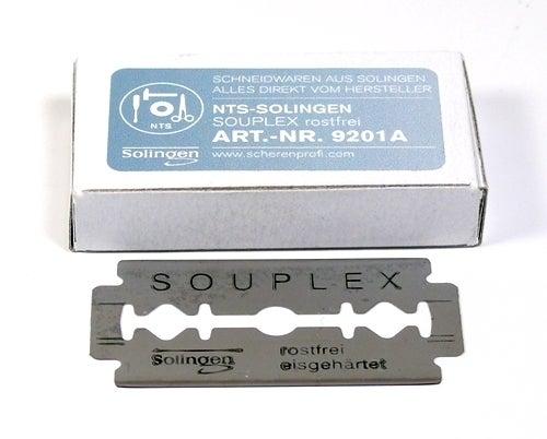 10 Stück SOUPLEX Rasierklingen