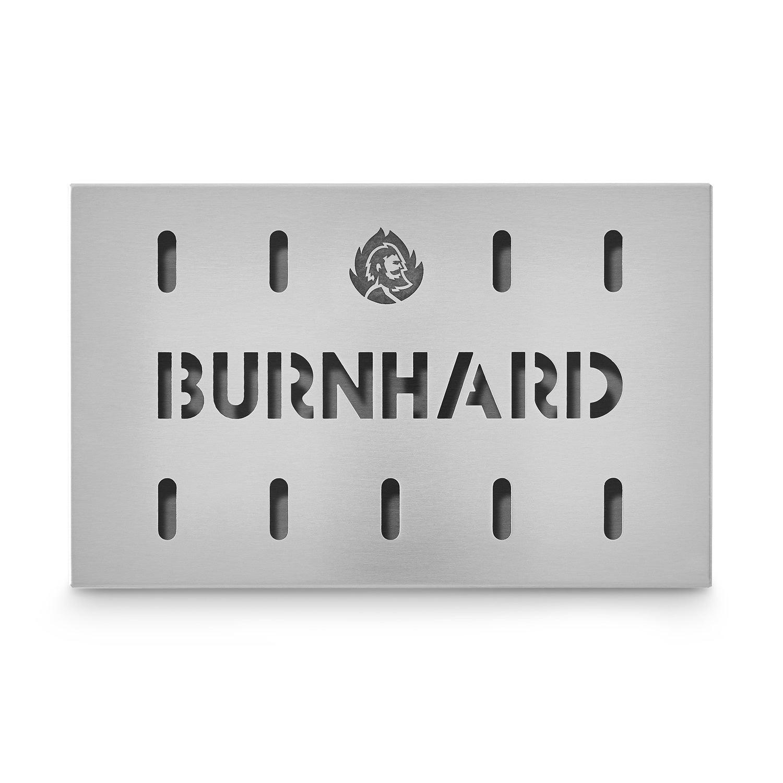 Stainless Steel Smoking Box – 21 x 13 cm