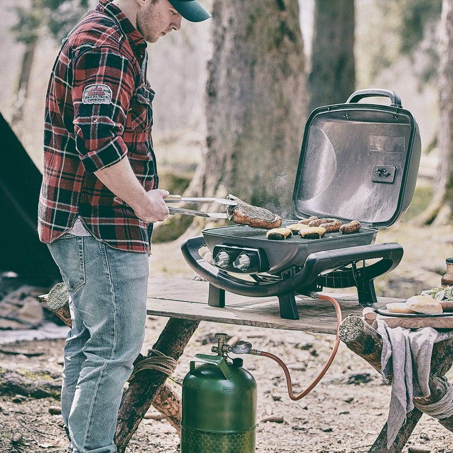 WAYNE Portable – 2-burner gas grill