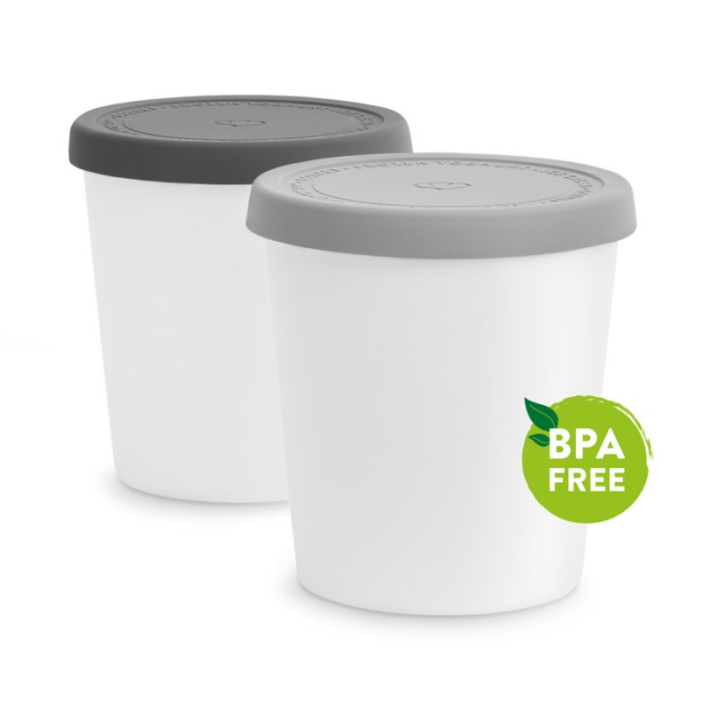 Storage container for ice cream - Set of 2