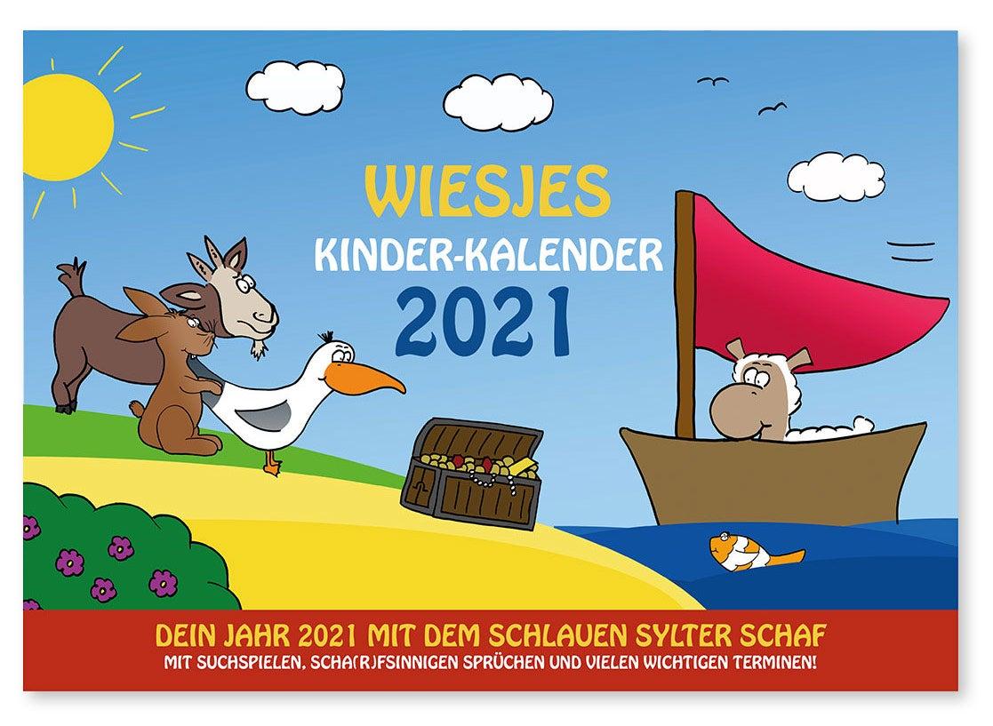 Wiesje Kinderkalender 2021