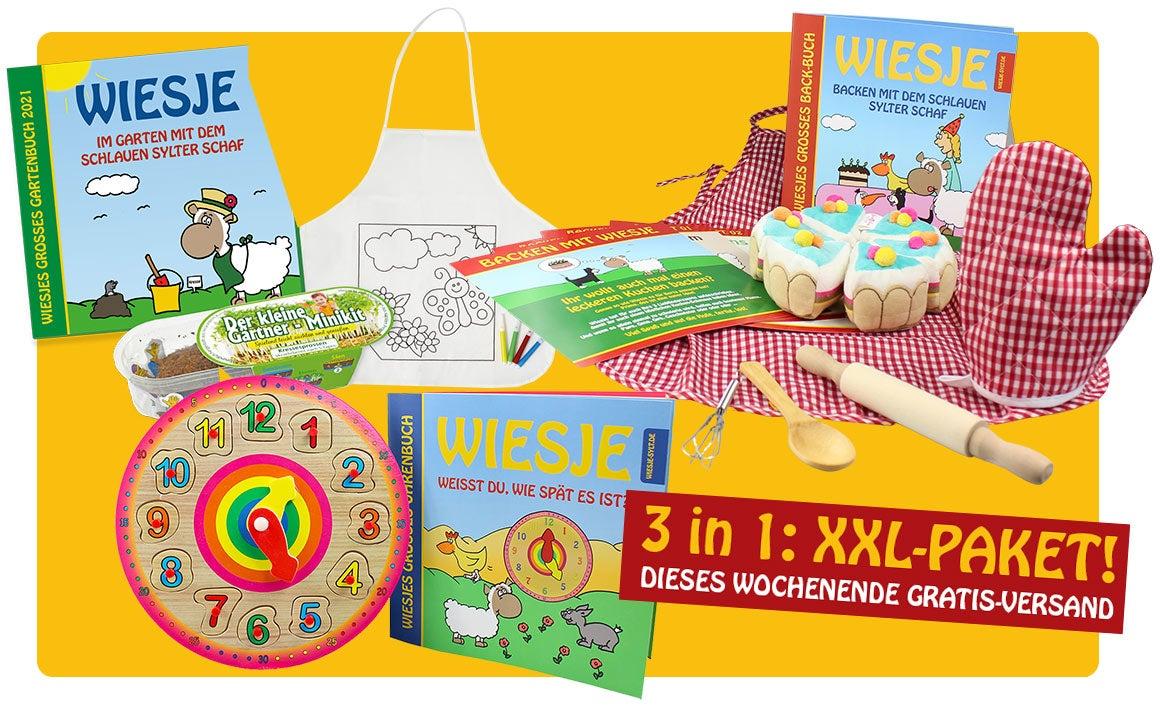 Wiesjes großes Lern-, Spiel-und Spaß-Paket