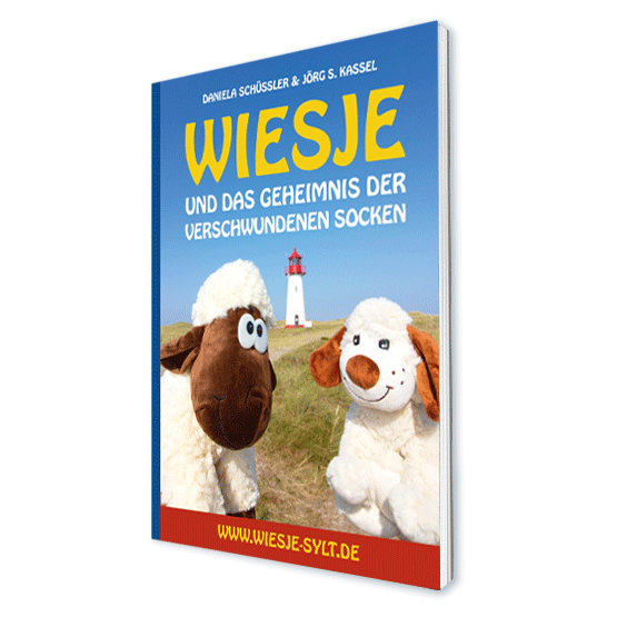 Wiesje und das Geheimnis der verschwundenen Socken - Sylterkinderbuch DIN A5