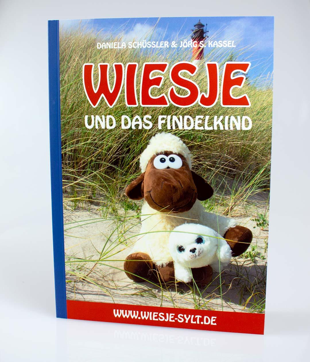 Wiesje und das Findelkind + Plüsch-Robbe