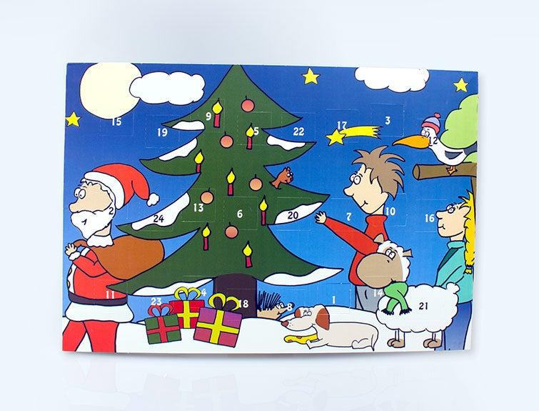 """Adventskalender """"Weihnachten mit Wiesje"""""""