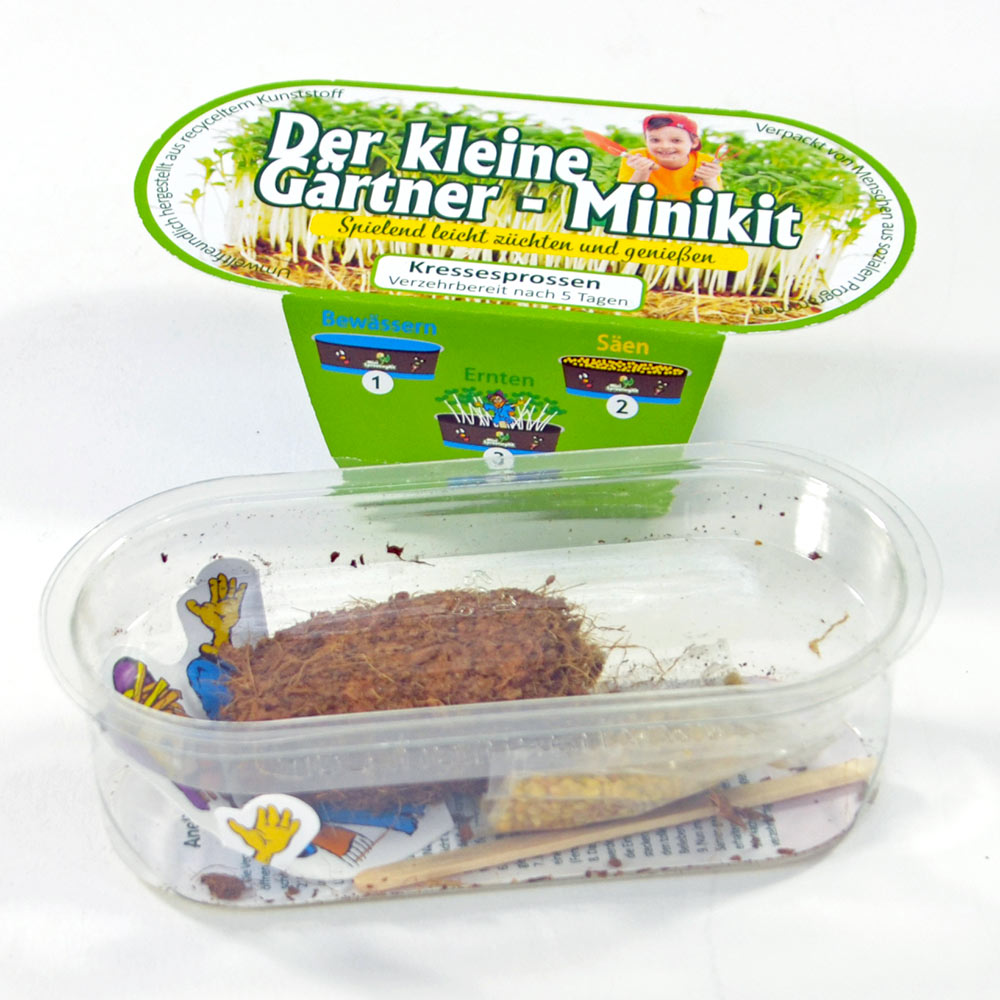 Wiesjes Garten-Paket: Buch + Gärtner-Set + Gärtnerschürze