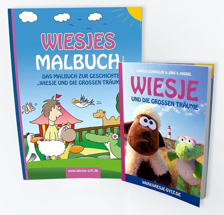 Wiesje und die großen Träume + Malbuch