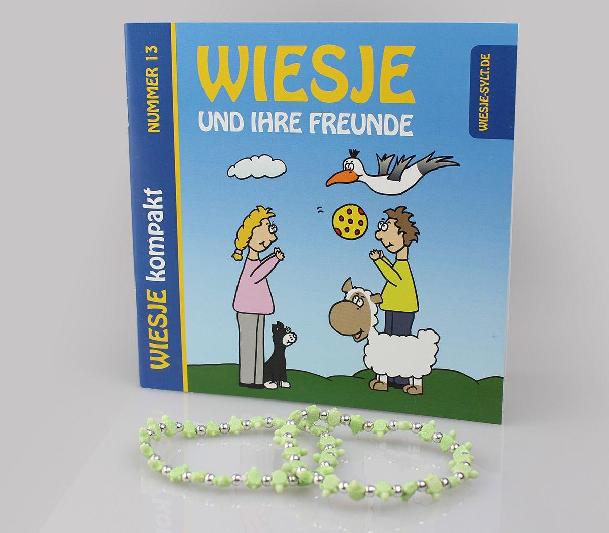 Wiesje und ihre Freunde - Kompaktbuch + 2 Freundschaftsbändchen