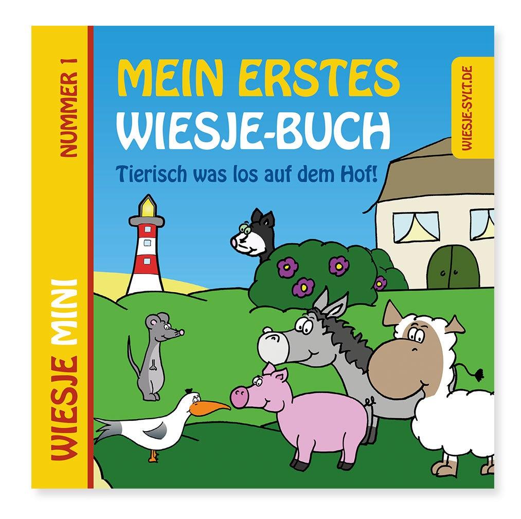 Mein erstes Wiesje-Buch + Ziehtier Schaf