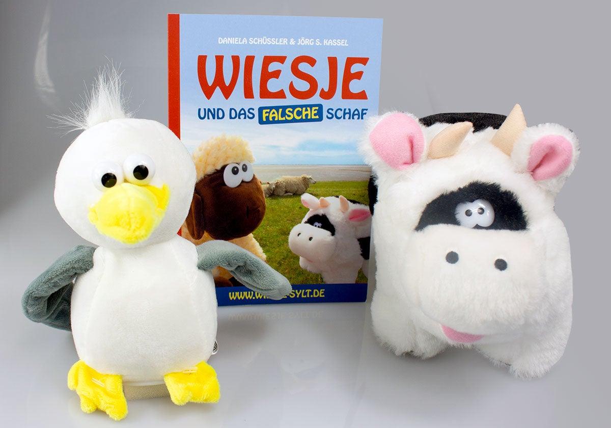 Wiesje Sammler-Edition mit Labermöwe Kalle als Bonus -10% Rabatt