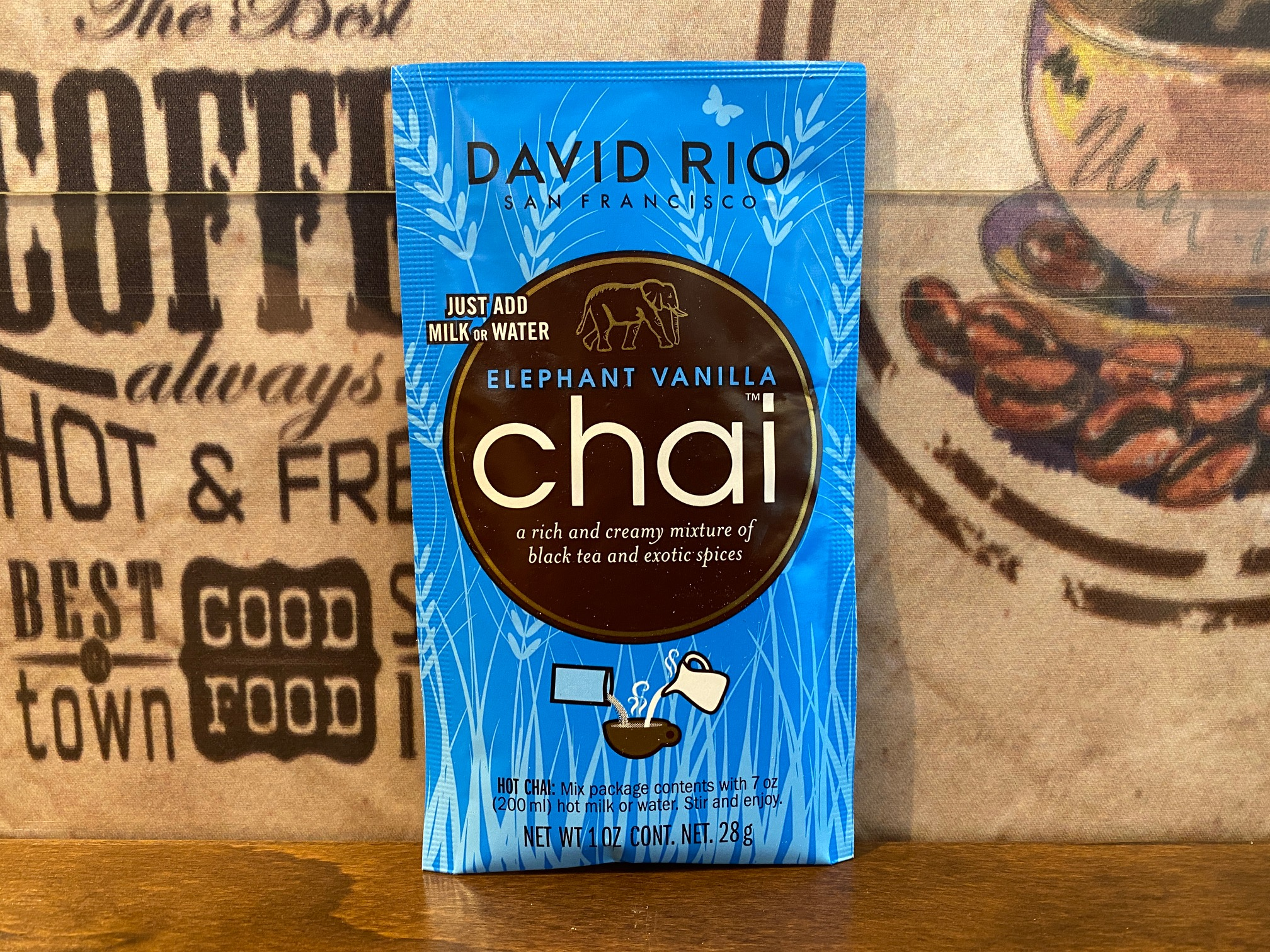 David Rio Chai – Elephant Vanilla (Beutel/eine Portion)