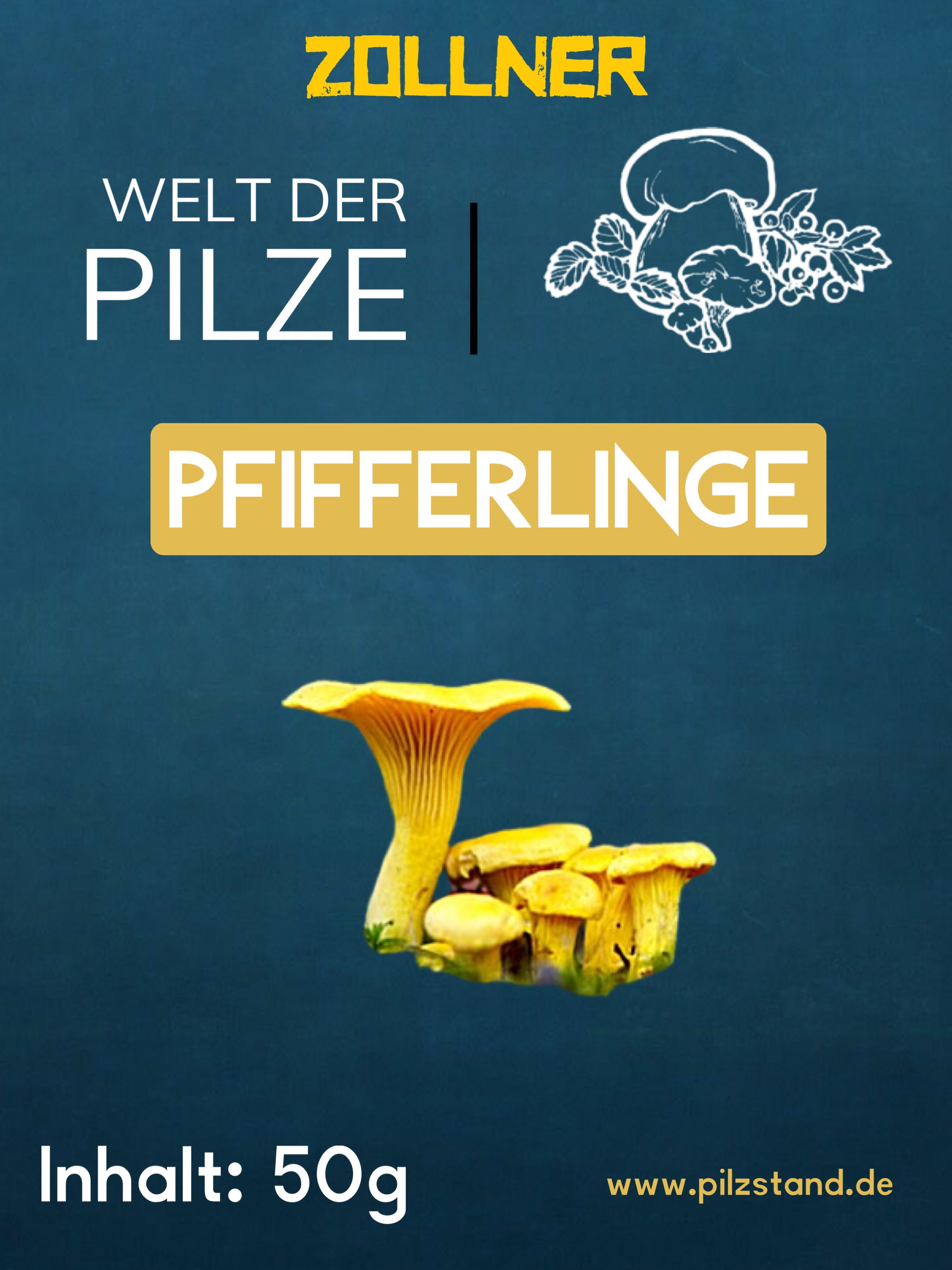 Pfifferlinge getrocknet 50g