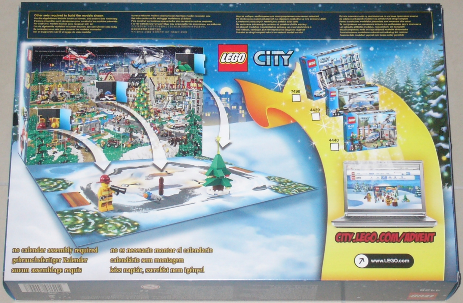 Lego 4428 City Adventskalender